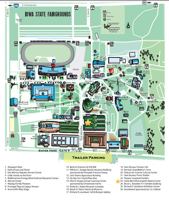map of the iowa state fairgrounds Iowa State Fair Parking Map World Map Atlas map of the iowa state fairgrounds